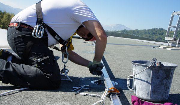 installazione vertic sicurezza in altezza